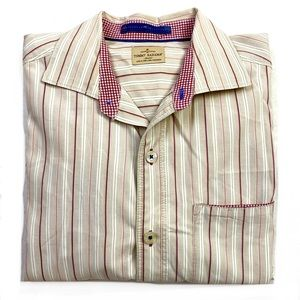 Tommy Bahama Jeans Cotton Striped Button Down